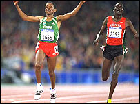 2000 Olympic Games Sydney, Gebrselassie and Tergat