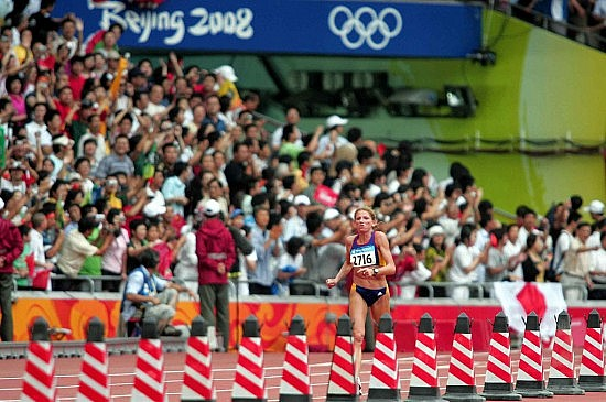 Constantina Diţă-Tomescu. Photo by Flickr user Comisión Nacional de Cultura Física y Deporte Conade