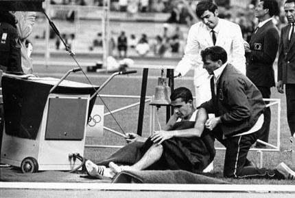 Ron Clarke Collapsed