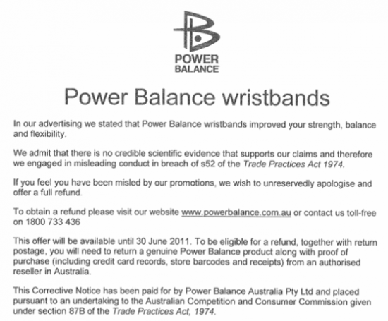 Power-balance-retraction